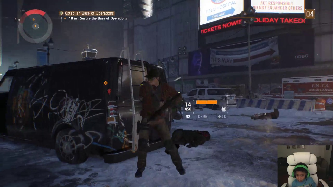 BAD Gamers Tom Clancy's The Division Live Stream - YouTube
