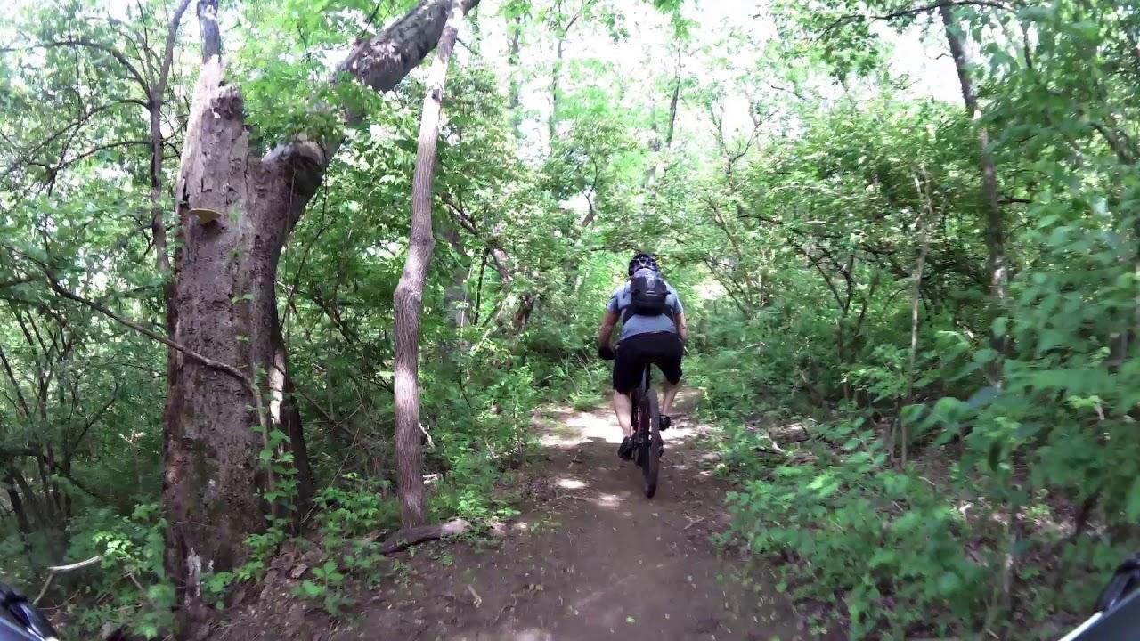 Cedar Hill Mountain Bike Trail Nashville TN - YouTube