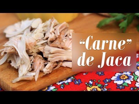 """Como fazer """"Carne"""" de Jaca Verde (e Fricassê Vegano)"""