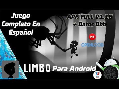 Descargar Limbo Juego Full Para Android [ Apk Full + Datos Obb | MEGA