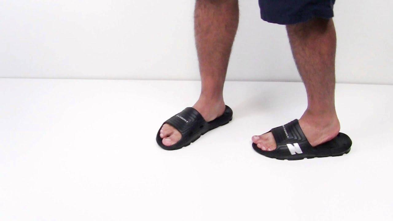 5d303290cdc8e New Balance Float Slide Men's Sandals - YouTube