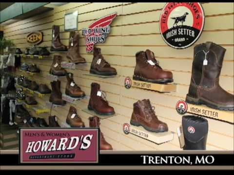 Trenton Missouri's Howard's Department Store on Our Story's the Celebrities