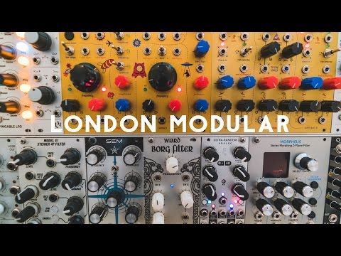 Inside London Modular - the showroom selling synths to Aphex Twin and Radiohead