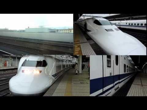 Trem bala - Muito rápido Shinkansen N700 & 700 series - 系新幹線 The best of (compilation)