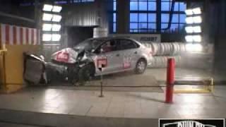 Краш тест Volkswagen Polo Sedan(Краш-тест Авторевю: калужский Volkswagen Polo. Скорость разгона: 64км/ч., 2010-12-07T09:53:58.000Z)
