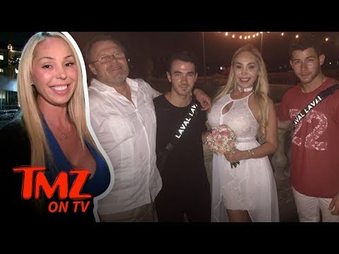 Kevin & Nick Jonas Crash Ex-Pornstar's Wedding   TMZ TV