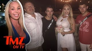 Kevin & Nick Jonas Crash Ex-Pornstar's Wedding | TMZ TV