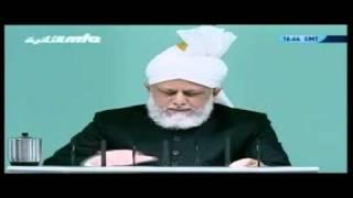 Проповедь Хазрата Мирзы Масрура Ахмада (01-10-10) часть 5