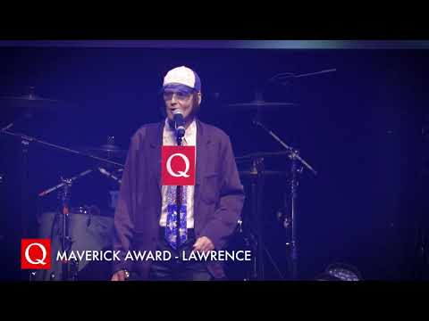 Lawrence collects his first award EVER at the #QAwards from YouTube · Duration:  1 minutes 19 seconds