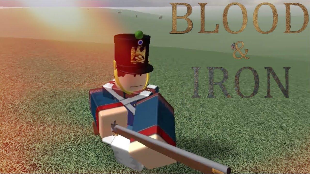 Roblox Blood Iron Napoleonic War Type Sh Youtube