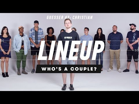 Who's a Couple from a Group of Strangers (Christian) - Lineup