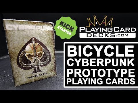 poker Limited Edition, numbered seals Bicycle Ancient machine playing cards