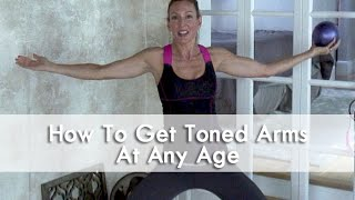 Flabby Arms/Bat Wings ~ Arm Toning Workout Over 50!