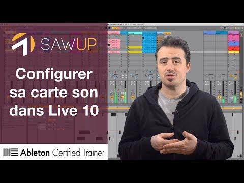 Configurer sa carte son dans Live 10