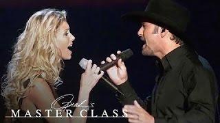 Tim McGraw Gets Emotional Describing Wife Faith Hill | Master Class | Oprah Winfrey Network