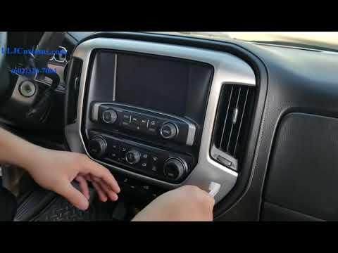 2014-15-16-17-2018 Chevy Sierra/Silverado Amplifier Install