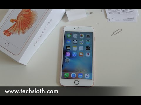 Apple iPhone 6s Plus setup and installation guide