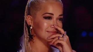 WOW! His Performance made Rita Ora Emotional! Video