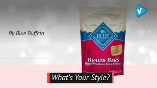 Blue Health Bars Bacon, Egg & Cheese Dog Treats 16-Oz Pack Of 1.