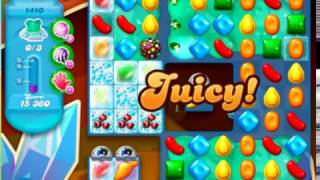 Candy Crush Soda Saga Level 1410 - NO BOOSTERS ***