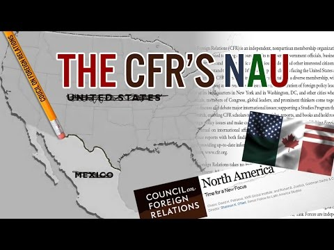 Welcome to Americanadexico: New CFR Blueprint for a North American Union Super Grid
