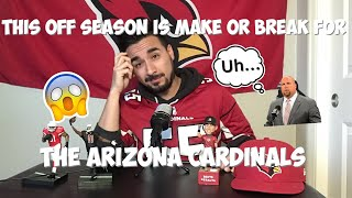 This off-season is make or break for the Arizona Cardinals 😱😱🙏🏻🙏🏻