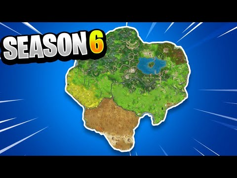 Fortnite Season 6 Map Changes New Fortnite Season 6 Battle Royale