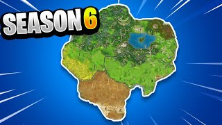 Fortnite Season 6 Map Changes - NEW Fortnite Season 6 Battle Royale Map