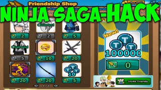 Ninja Saga HACK / BUG - TOKENS + FREE Kinjutsu + Yoake + Clothes 2016