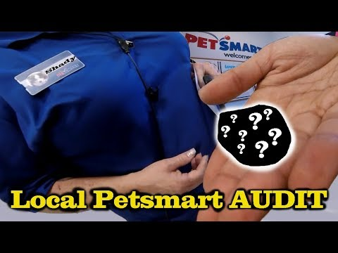 PETSMART SELLS ME A DEAD ANIMAL!! (Pet Store Audit + Horrible Customer Service)