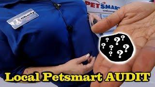 PETSMART SELLS ME A DEAD ANIMAL!! (Pet Store Audit + Horrible Customer Service)