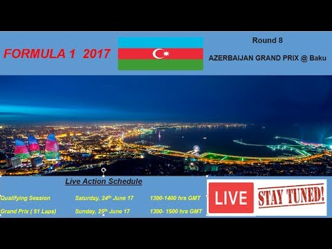 Image result for Azerbaijan Grand Prix 2017 Live pic logo