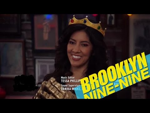 Rosa Diaz wins The Amazing Human/Genius Heist || Brooklyn Nine Nine || Best Detective ever
