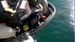 panne sur moteur yamaha hors-bord 4cv 4temps (3/4)