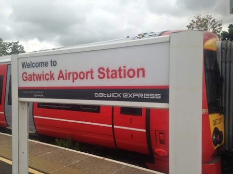 Full Journey on Gatwick Express (Class 387) from London Victoria to Gatwick Airport