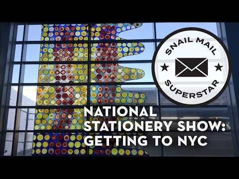 National Stationery Show: Getting to NYC