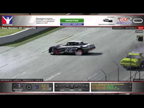 iracing crash at usa raceway