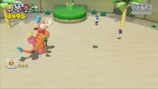 Super Mario 3D World: Whoops - Part 1 Broken Joystick Games