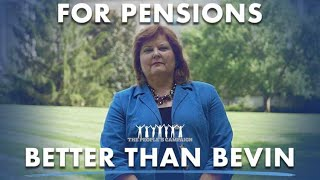 For Pensions - Better Than Bevin