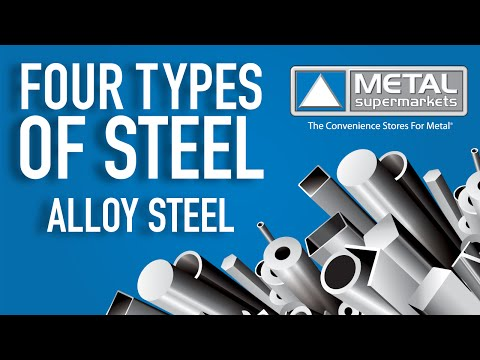 The Four Types Of Steel (Part 3: Alloy Steel)   Metal Supermarkets