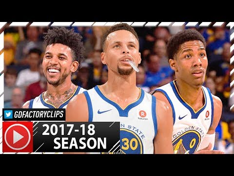 Stephen Curry, Nick Young & Patrick McCaw PS Highlights vs Kings (2017.10.13) - TOO GOOD!