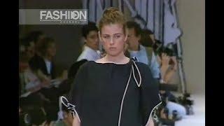 YOHJI YAMAMOTO Spring Summer 1991 Paris - Fashion Channel