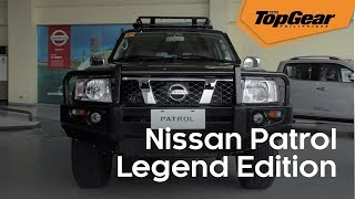 The Nissan Patrol Legend Edition is a proper sendoff for an iconic SUV