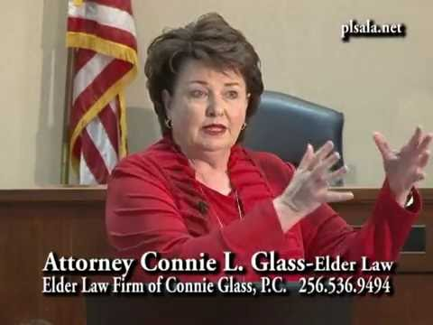 The People's Law School - Alabama: Attorney Connie L. Glass - Elder Law