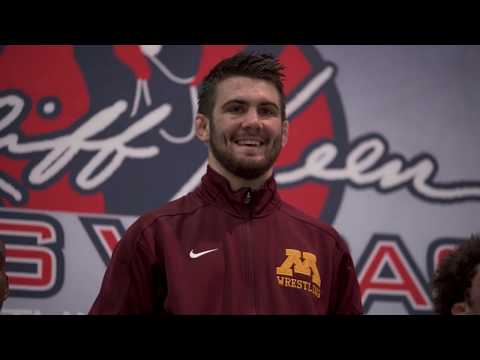 2019 Gopher Wrestling Cliff Keen Las Vegas Highlights