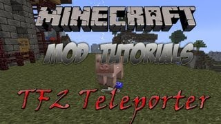 Minecraft 1.3.2 - How To Install The TF2 Teleporter Mod