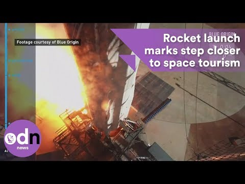 Rocket launch marks step closer to space tourism