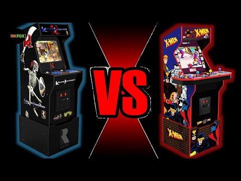 Arcade1Up's Killer Instinct vs X-men from 19kfox