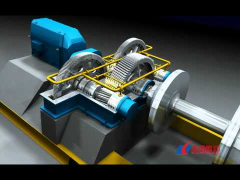 Gearbox/ MFY series gear reducer for central driving mill .WMV