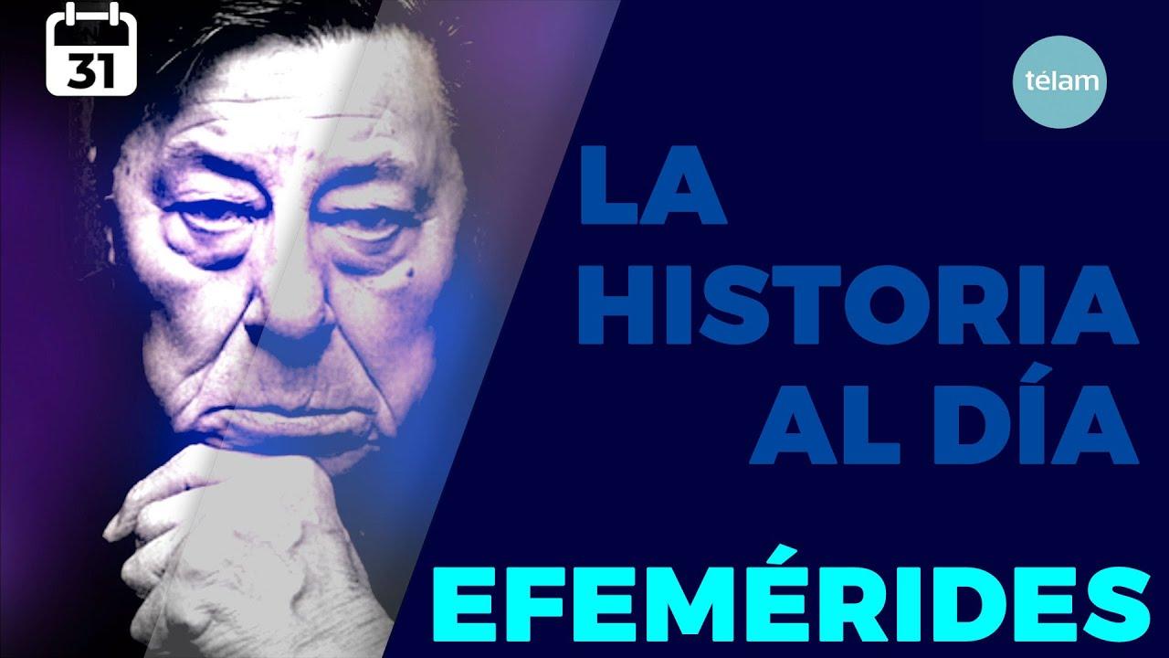 HISTORIA DEL DIA (EFEMÉRIDES 31 ENERO)
